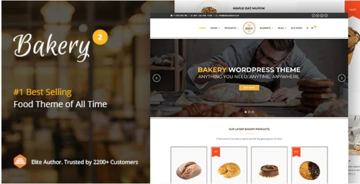 You are currently viewing Bakery 2.6 | WordPress Cake & Food Theme