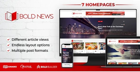 You are currently viewing Bold News 1.4.9 – Magazine & Newspaper WP Theme