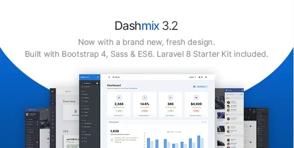 You are currently viewing Dashmix 5.0 – Bootstrap 4 Admin Dashboard Template