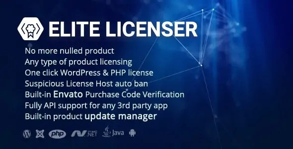 You are currently viewing Elite Licenser 2.2.5 NULLED – Software License Manager