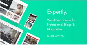 Read more about the article Expertly 1.7.6 Nulled – WordPress Blog & Magazine Theme for Professionals