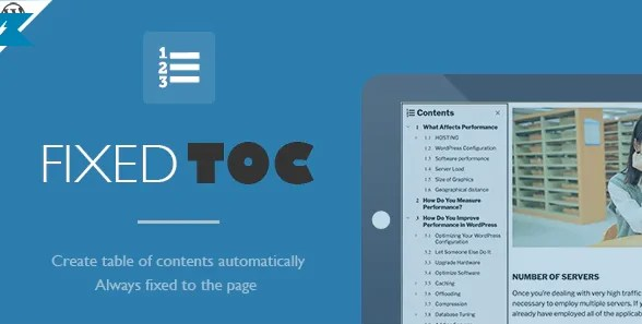 You are currently viewing Fixed TOC 3.1.24 – Table of Contents for WordPress Plugin