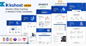 Read more about the article Kohost 6.0.0 – Modern Web Hosting & WHMCS Template