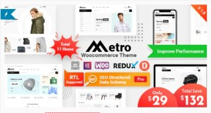 Read more about the article Metro 1.8.8 – Minimal WooCommerce WordPress Theme
