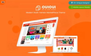 Read more about the article OuiOui 1.3.6 – Multi Vendor MarketPlace Elementor WooCommerce Theme