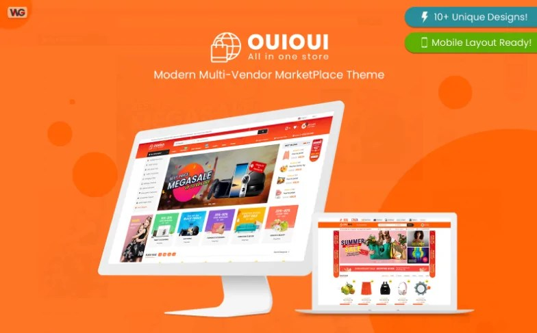 You are currently viewing OuiOui 1.3.6 – Multi Vendor MarketPlace Elementor WooCommerce Theme