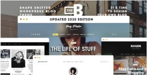 Read more about the article TheBlogger 2.1.2 – WordPress Theme For Bloggers