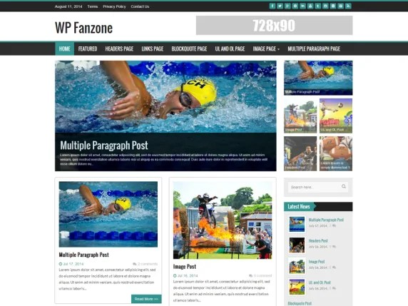 You are currently viewing WP Fanzone 3.2 – Light WordPress Theme