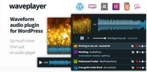 Read more about the article WavePlayer 3.1.3 – Waveform Audio Player for WordPress