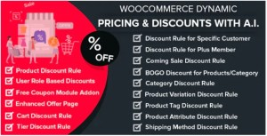 Read more about the article WooCommerce Dynamic Pricing & Discounts with AI 2.4.2 Nulled