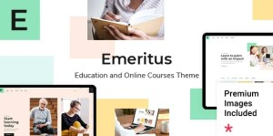 Read more about the article Emeritus 1.0 NULLED – Education and Online Courses Theme