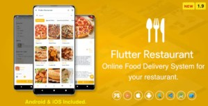 Read more about the article Flutter Restaurant 1.9 – Online Food Delivery System For iOS and Android