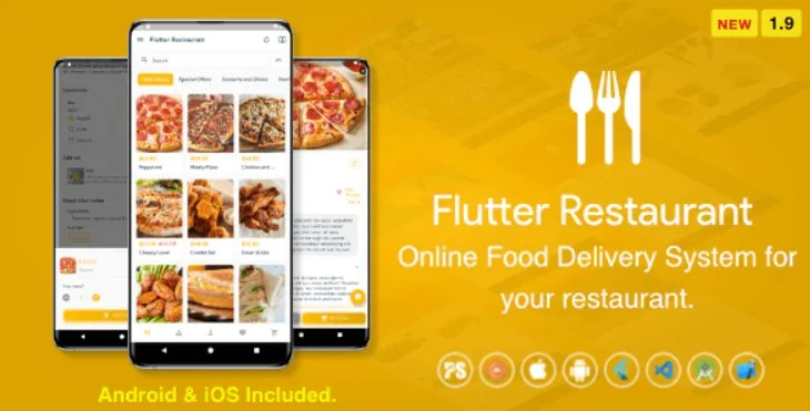 You are currently viewing Flutter Restaurant 1.9 – Online Food Delivery System For iOS and Android