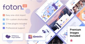 Read more about the article Foton 2.2 NULLED – Software and App Landing Page Theme
