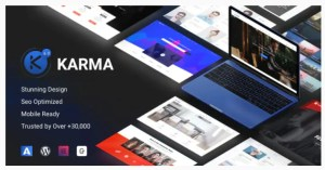 Read more about the article Karma 6.2.0 – Responsive WordPress Theme