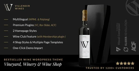 You are currently viewing Villenoir 5.2 – Vineyard, Winery & Wine Shop WP Theme