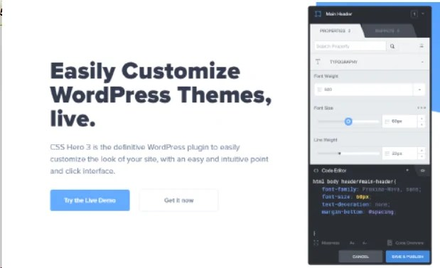 You are currently viewing CSSHero 5.0.6 NULLED – Visual CSS Editor For WordPress