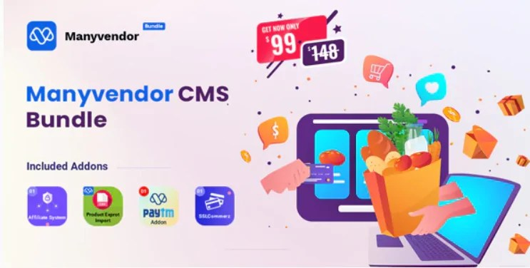 You are currently viewing Manyvendor 2.0 – eCommerce & Multi-vendor CMS Bundle
