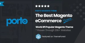 Read more about the article Porto 4.0.0 NULLED – Ultimate Responsive Magento Theme