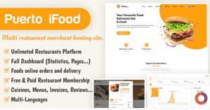 Read more about the article iFood 1.1 – Multi Restaurant Merchant Hosting Site SAAS