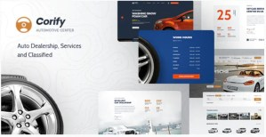 Read more about the article Corify 1.0.9 – WordPress Car Listings & Dealership Theme