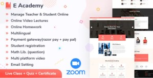 Read more about the article E-Academy 1.2 NULLED – Online LMS & Live Streaming Classes (web)