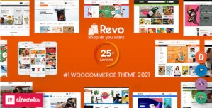 Read more about the article Revo 4.0.7 NULLED – Multipurpose Elementor WooCommerce WordPress Theme