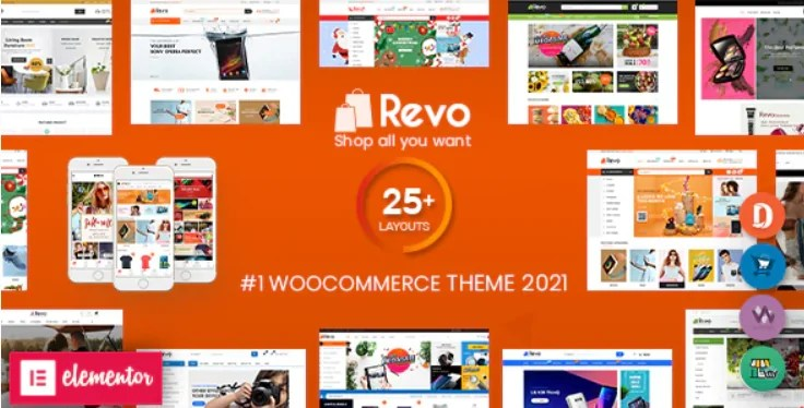 You are currently viewing Revo 4.0.7 NULLED – Multipurpose Elementor WooCommerce WordPress Theme