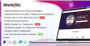 Read more about the article Worketic 2.9 – Marketplace for Freelancers