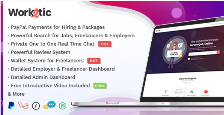 You are currently viewing Worketic 2.9 – Marketplace for Freelancers