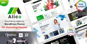 Read more about the article Alico 1.0.8 – Insurance WordPress Theme