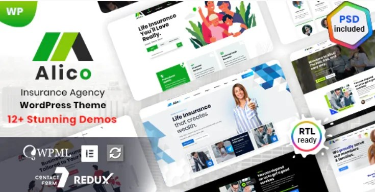 You are currently viewing Alico 1.0.8 – Insurance WordPress Theme