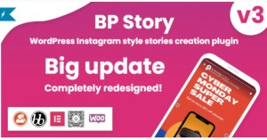 Read more about the article BP Story 3.1.3 – Instagram style stories for WordPress