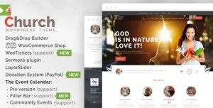 Read more about the article Church 35 NULLED – WordPress Theme