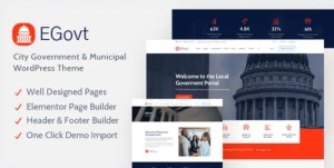 Read more about the article EGovt 1.1.2 – City Government WordPress Theme