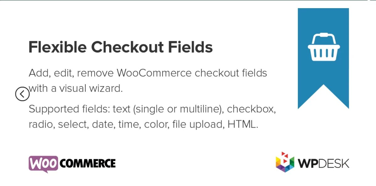You are currently viewing Flexible Checkout Fields PRO 3.0.8 – WordPress Plugin
