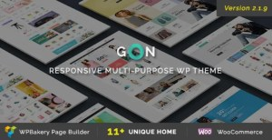 Read more about the article Gon 2.1.9 – Responsive Multi-Purpose WordPress Theme