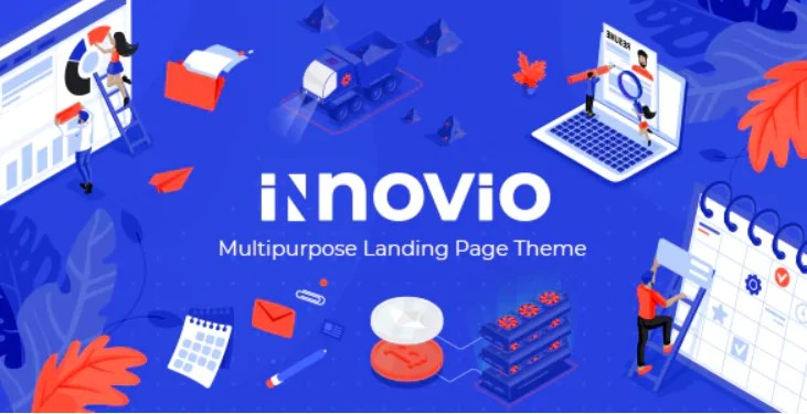 You are currently viewing Innovio 1.7 NULLED – Multipurpose Landing Page Theme