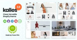 Read more about the article Kalles 2.5.1 – Responsive Shopify Theme – RTL support