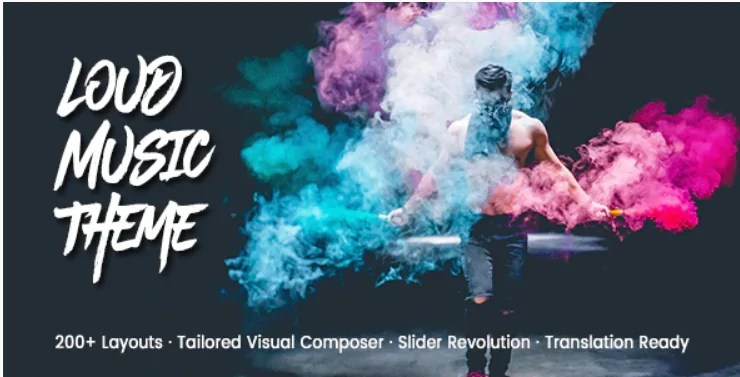 You are currently viewing Loud 2.1.3 – A Modern WordPress Theme for the Music Industry