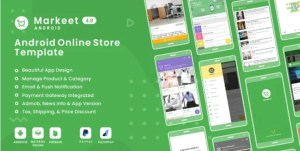 Read more about the article Markeet 4.0 – Ecommerce Android App