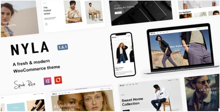 You are currently viewing Nyla 1.6.1 – A Fresh & Modern WooCommerce Theme