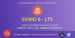 Read more about the article Sximo 6 LTS 7.1 – Laravel Multi Purpose Application
