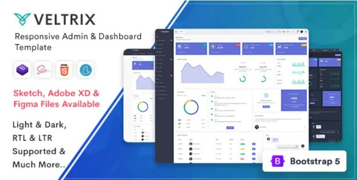 You are currently viewing Veltrix 4.0.0 – Admin & Dashboard Template