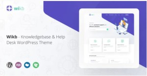 Read more about the article Wikb 1.3 – Knowledgebase & Help Desk WP Theme