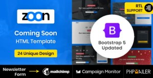 Read more about the article Zoon 2.0 – Coming Soon Template