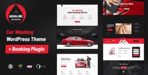 Read more about the article Aqualine 1.2.2 – Car Washing Service with Booking WP Theme