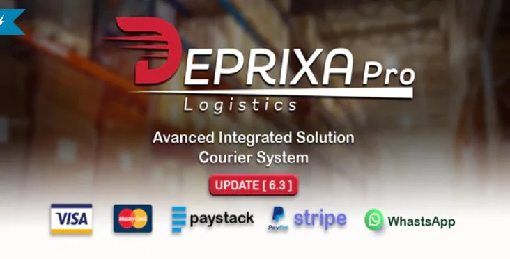 You are currently viewing Deprixa Pro 6.3 NULLED – Courier and Logistics System