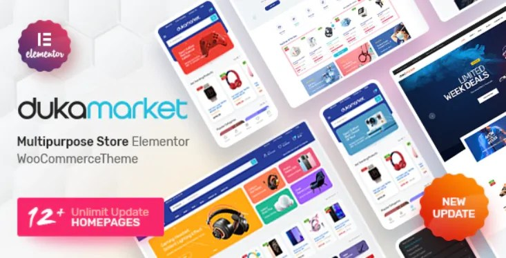You are currently viewing DukaMarket 1.0.6 – Multipurpose WordPress Theme