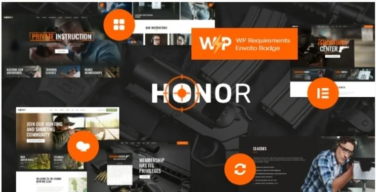 You are currently viewing Honor 1.3.0 – Multi-Purpose Shooting Club & Weapon Store WordPress Theme